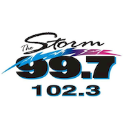 99.7 The Storm logo