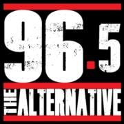 96.5 The Alternative logo