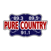 Pure Country 89.3 logo