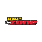 104.5 The Zone logo