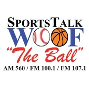 WOOF Sports Talk The Ball logo
