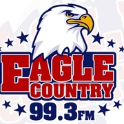 Eagle Country 99.3 logo