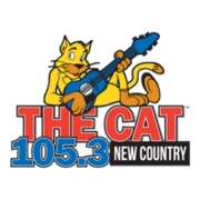 105.3 The Cat logo