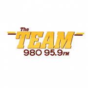 The Team 980 & 95.9 logo