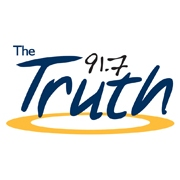 91.7 The Truth logo