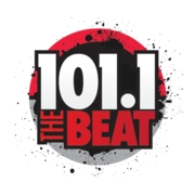 101.1 The Beat logo