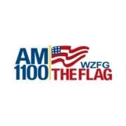 AM 1100 The Flag logo
