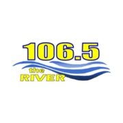 106.5 The River logo